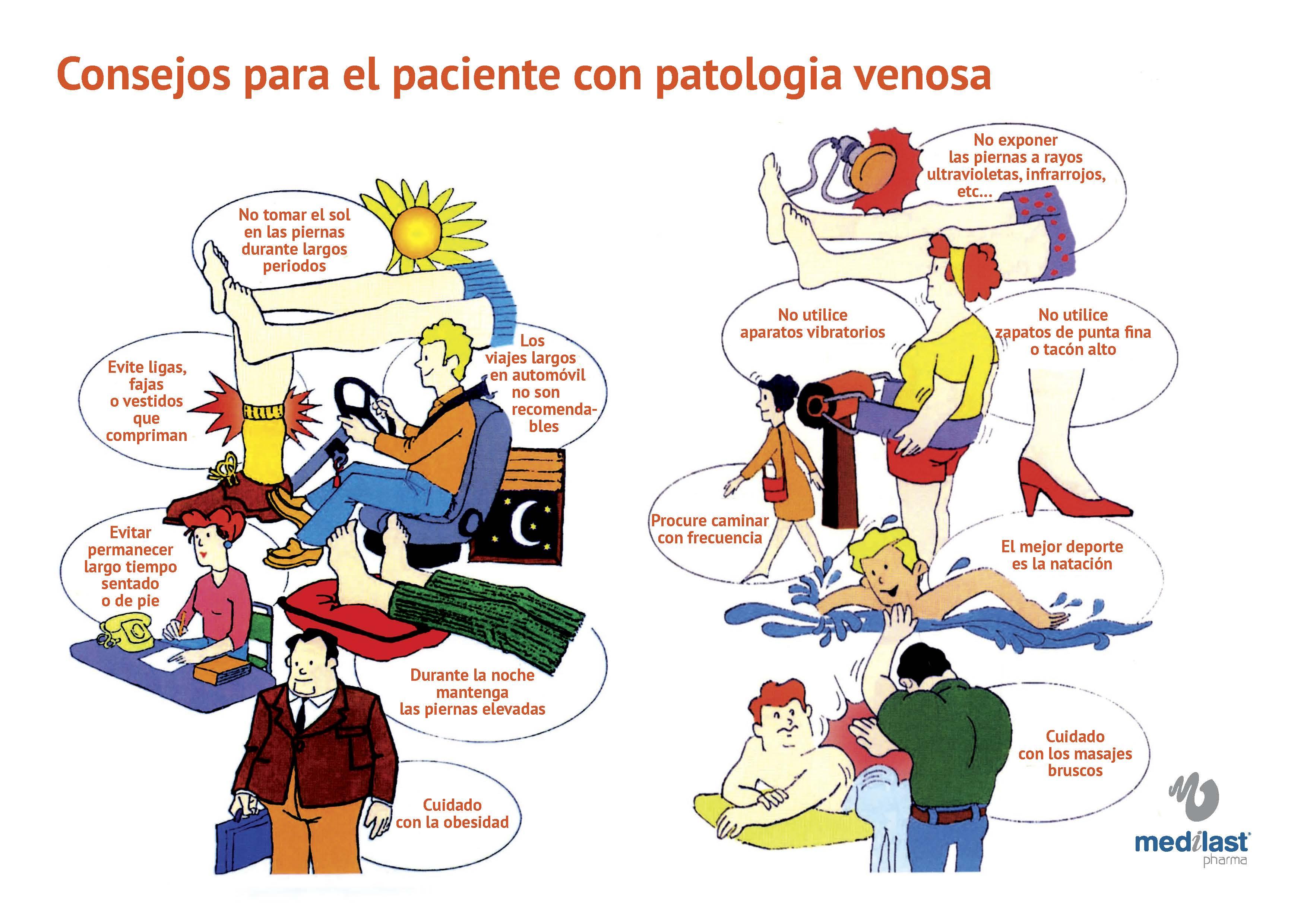 Consejos paciente INSUFICIENCIA VENOSA